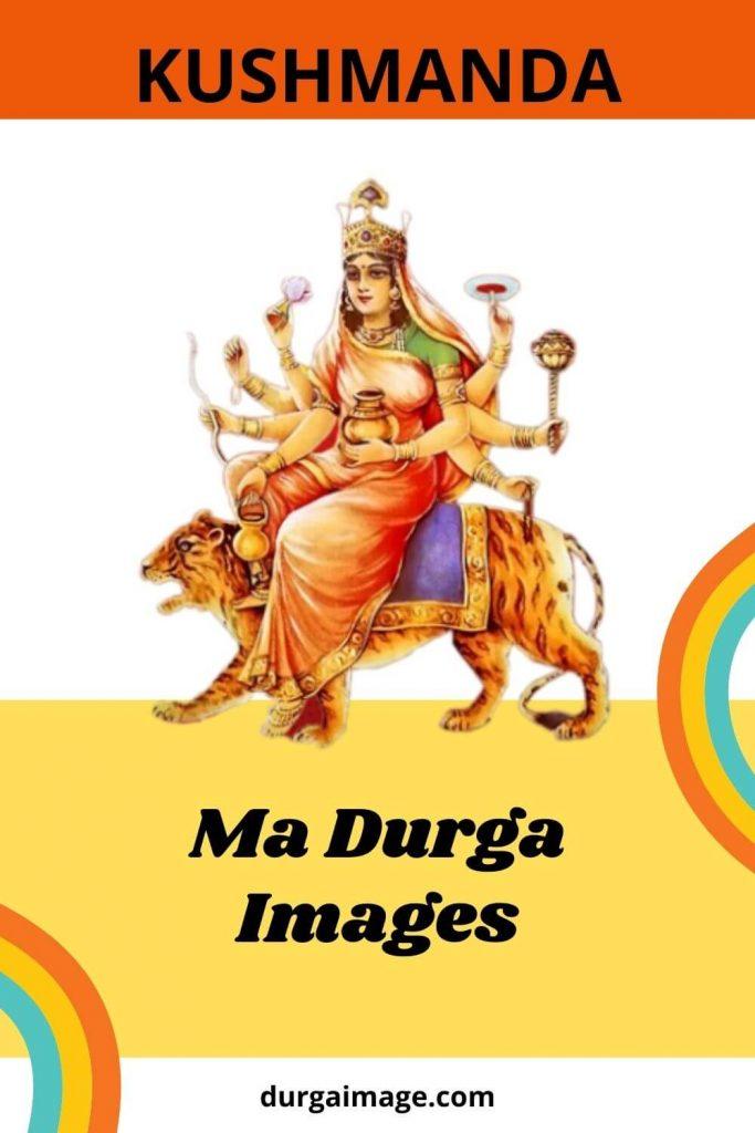 Kushmanda Ma Durga Image Free Download