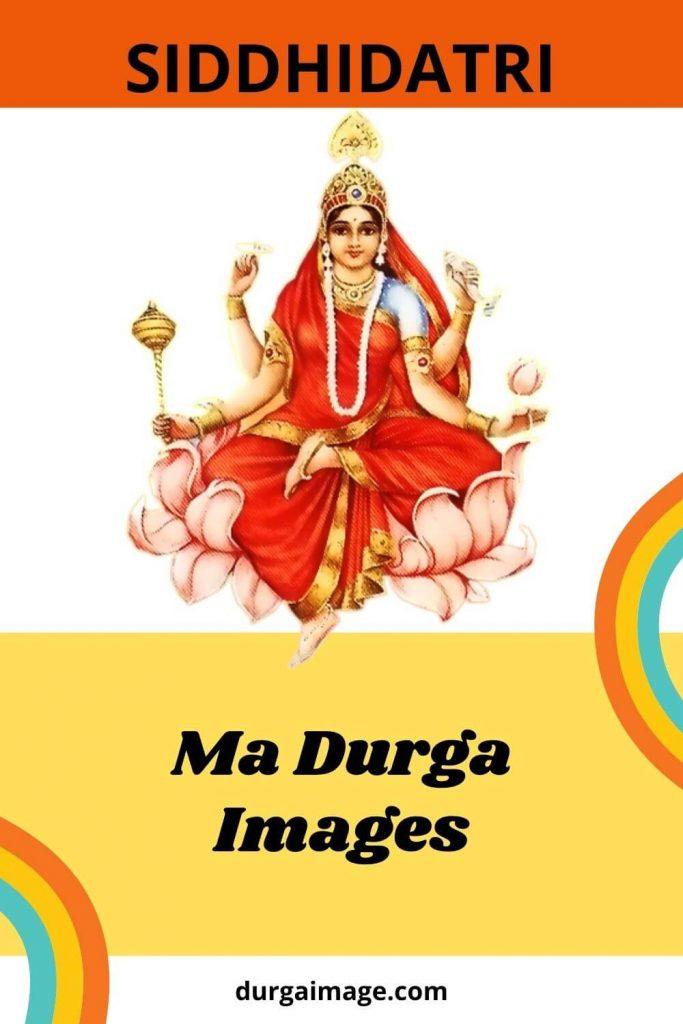 Sidhdhidatri Ma Durga Image Free Download