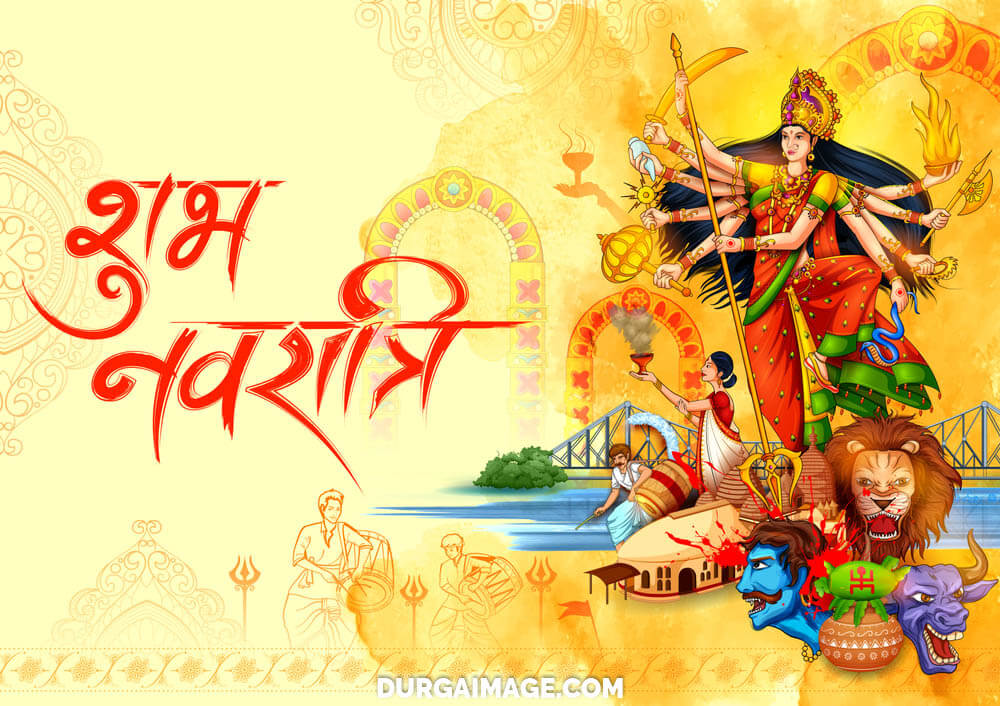 Navratri Images of Durga Ma