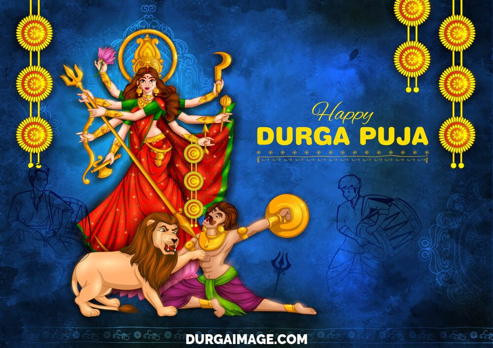 Navratri Images Of Durga Pooja
