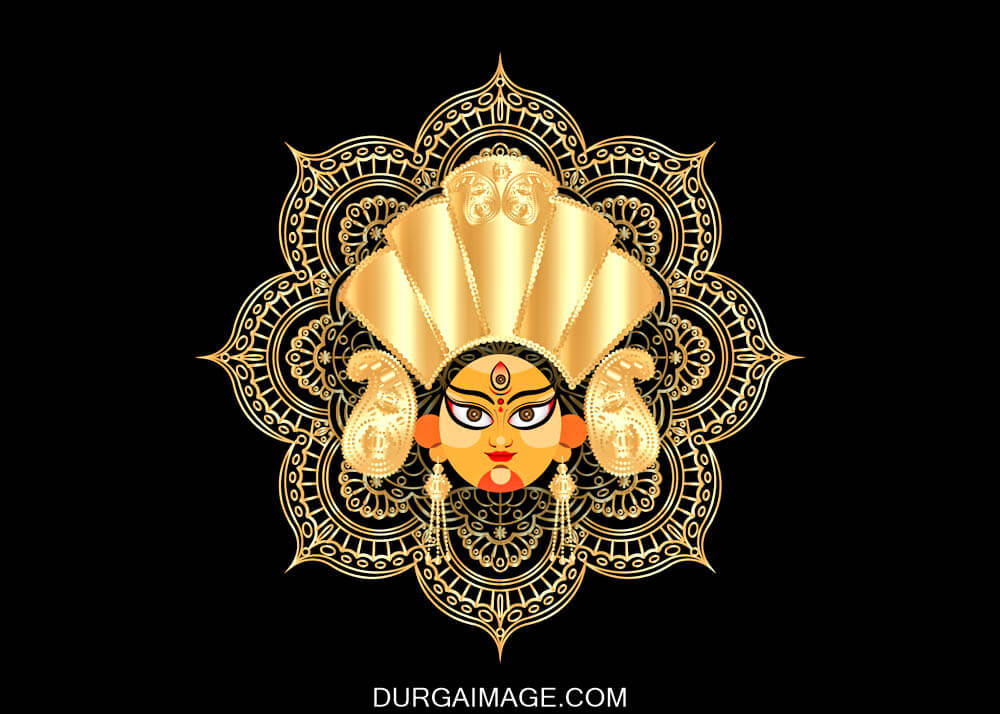 Best Images Of Maa Durga Animated