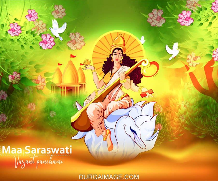 Maa Saraswati Photo