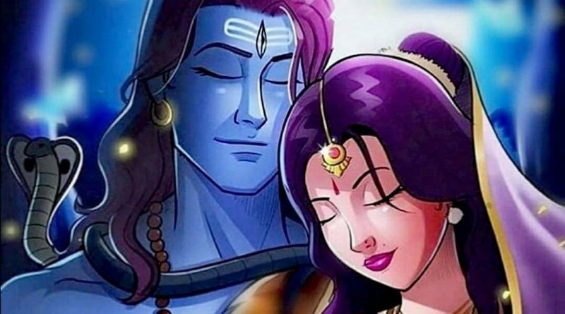 Shiv Parvati Romantic Images HD Download