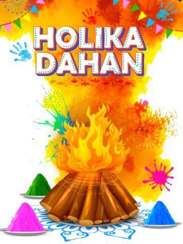 Happy Chhoti Holi Wishes Images