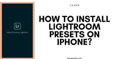 How to install lightroom presets on Iphone_